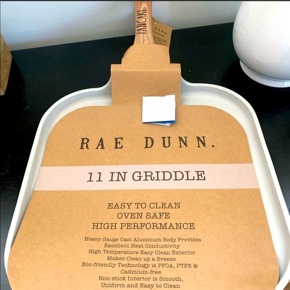 "PANCAKE griddle 11"" Rae Dunn"